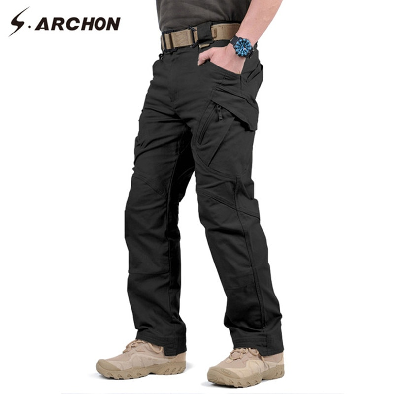 Decorating With Men Black Cargo Pants