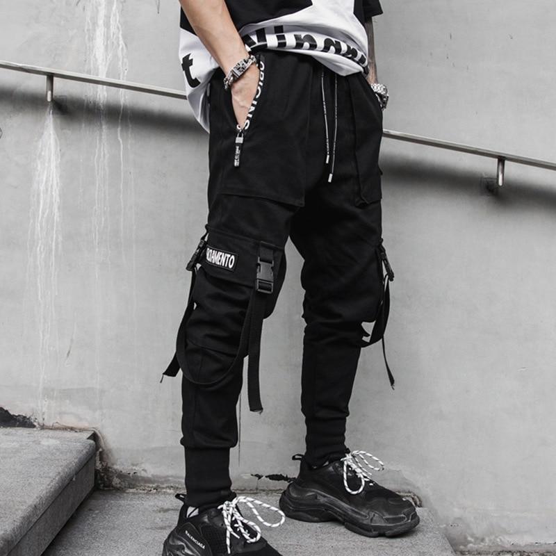 The Best Pair of Black Cargo Pants Mens Menswear