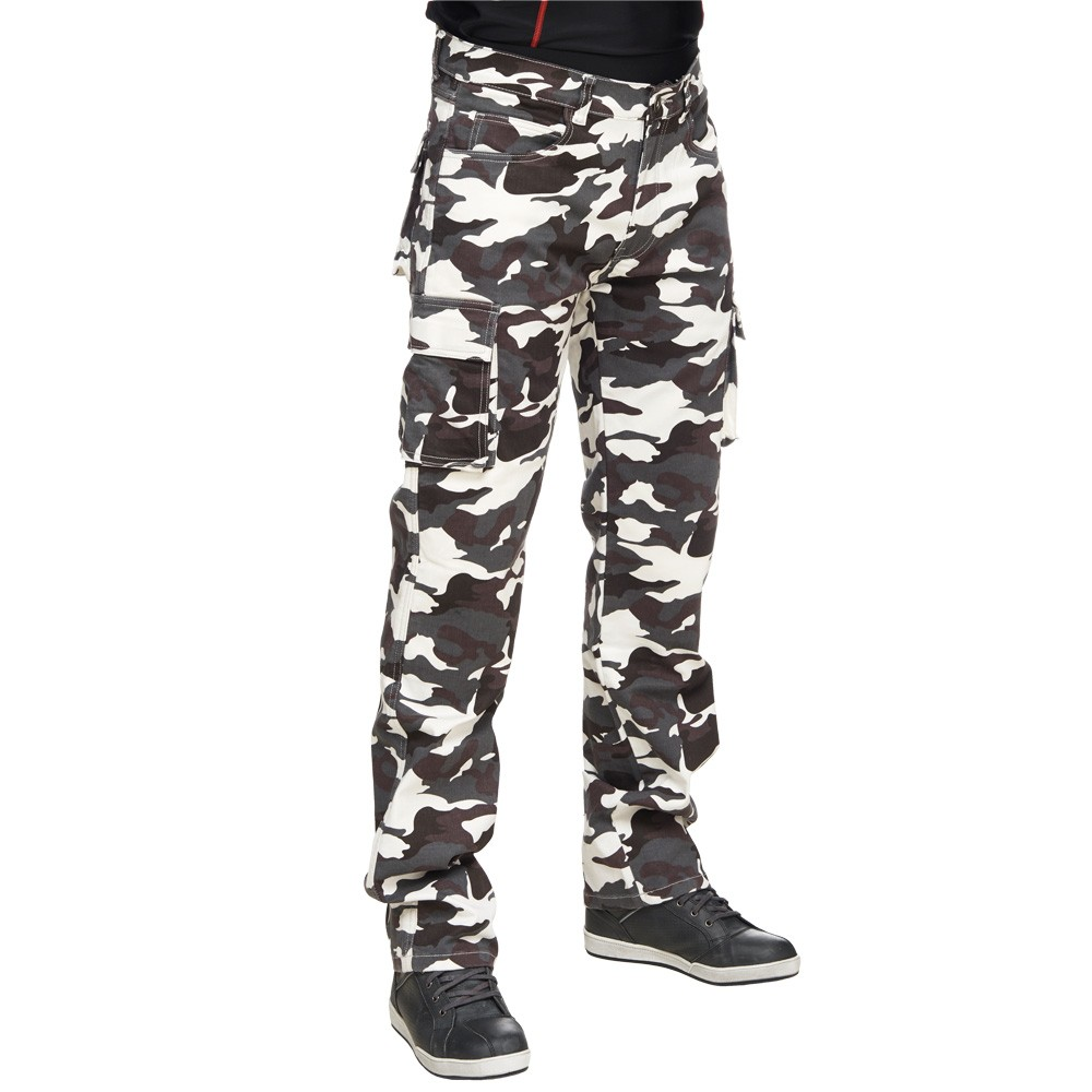 Camo Cargo Pants for the Last Line of Defence