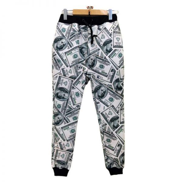 Fashion Dollars 3D Printed Pants