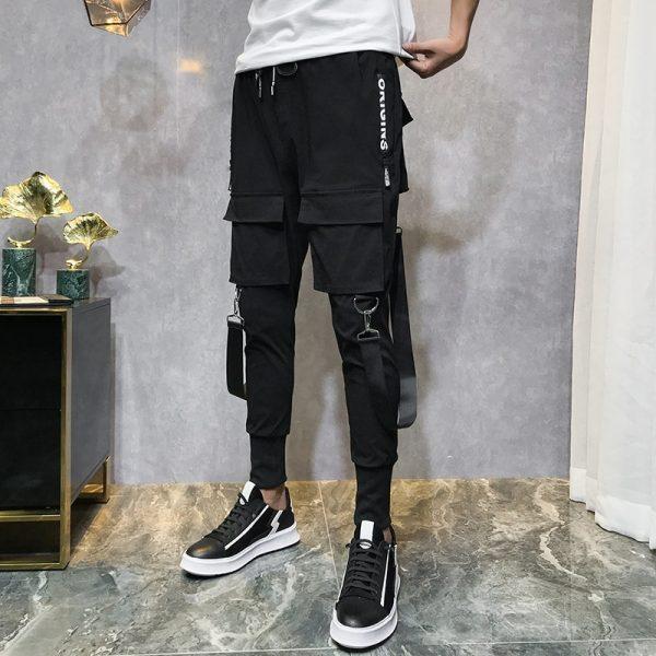 Men Streetwear Pants Harem Pants