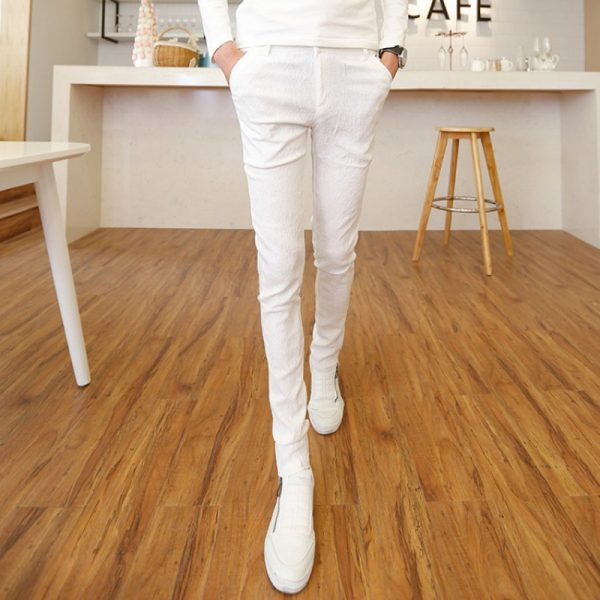 Fashion Summer Skinny White Pants