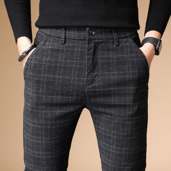 Men Casual Pants Business Pants