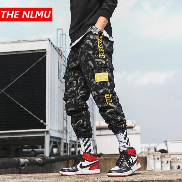 Printed Jogger Pant Cargo Pants