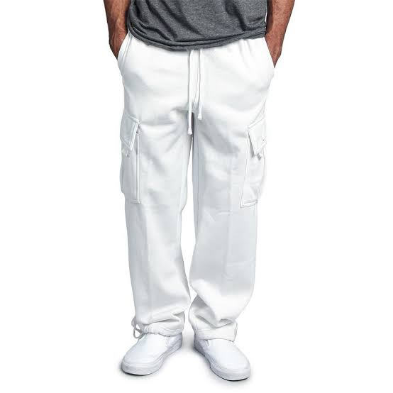 Styles of white cargo pants