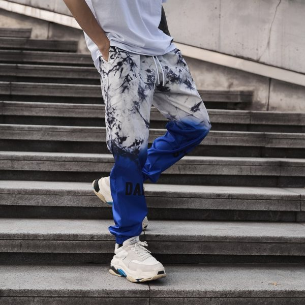 Colorful Gradient Joggers Pants
