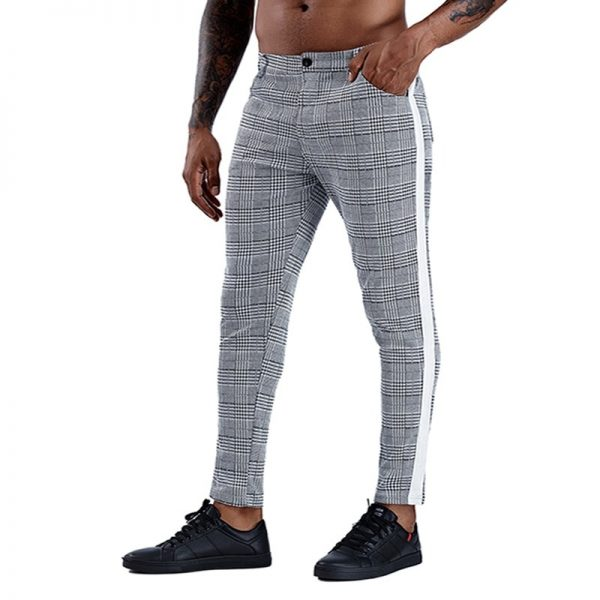 Men Trousers Skinny Chinos Pants