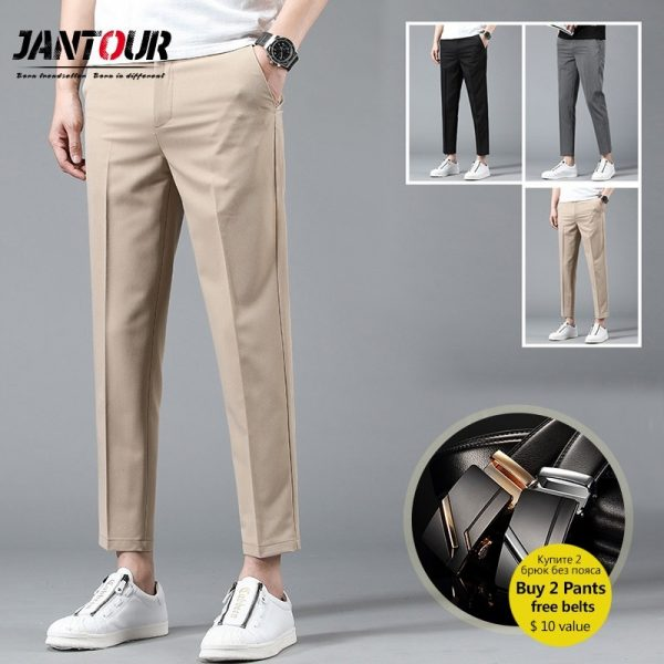 Men's Business Joggers Suits Pant