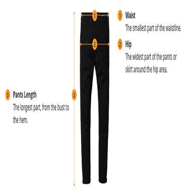 How Pants Are Measured - A Few Facts