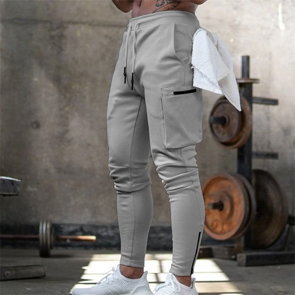 Men Jogger Pants Cotton Trousers