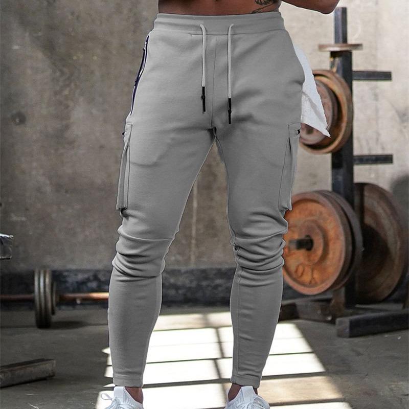 Men Jogger Pants Cotton Trousers