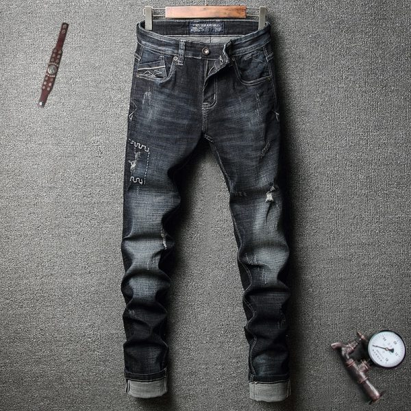 Fashion Men Jeans Classical Jeans