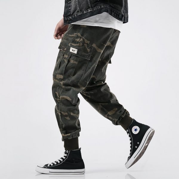 Men Jeans Camouflage Military Trousers