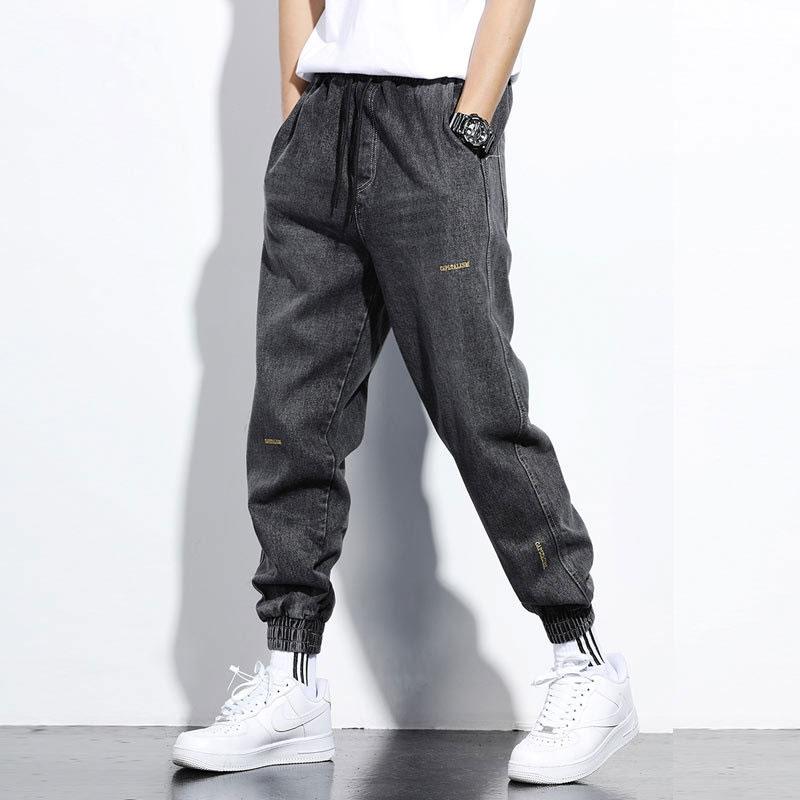 Men Jeans Denim Cargo Pants