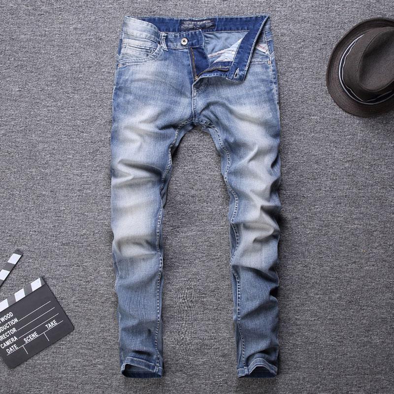 Men Jeans Streetwear Classical Jeans