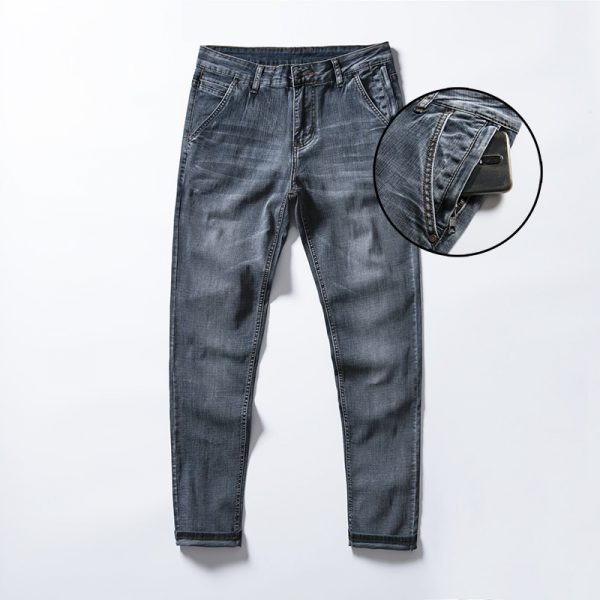 Men's Anti-theft Zipper Jeans