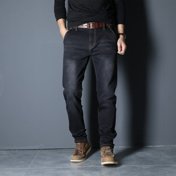Men's Denim Jeans Style Cargo